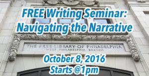 writing seminar oct 8 2016 nanowrimo